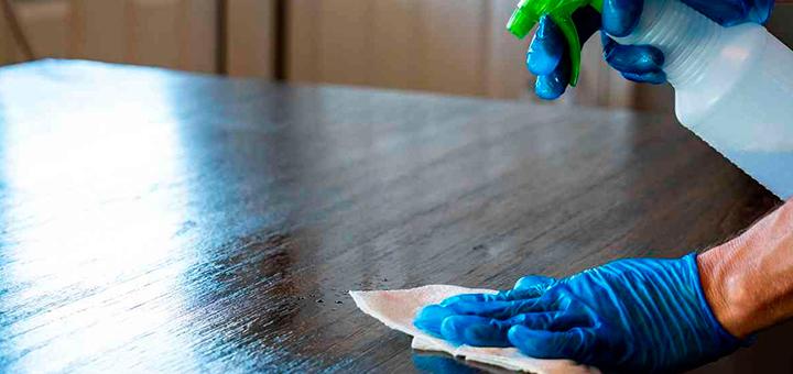 limpiar desinfectar